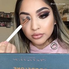 """6,973 Likes, 134 Comments - Nancy Cruz (@nancy_cruises) on Instagram: """"2nd tutorial using the new #subculture palette by @anastasiabeverlyhills @norvina CONTACTS:…"""""""