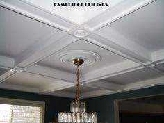 Unique ceiling panels...