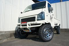 PRODUCE CAR | CARSTYLE カースタイル Mini Trucks, 4x4 Trucks, Custom Jeep, Custom Cars, Suzuki Every, Mini 4x4, Black Rhino Wheels, Suzuki Cars, Kei Car