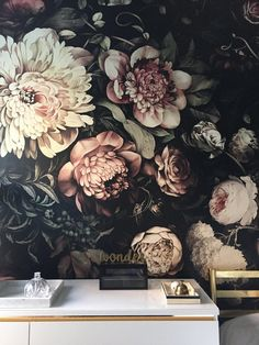 One Room Challenge : Week Five » A Wonder of a Wallpaper »