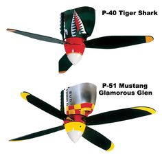 Warbird Ceiling Fans - Sporty's Wright Bros