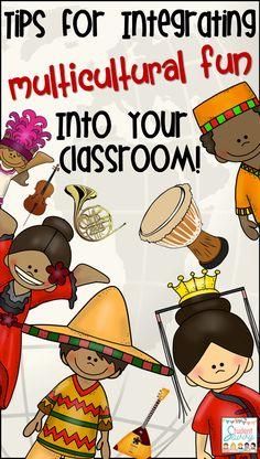 Integrate Multicultural Fun Into the Classroom!