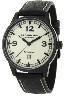 Price:$99.47 #watches Stuhrling Original 129XL.335566, Created in a blend of fashion and class, this Stuhrling timepiece exhibits a bold style that adds flare to your collection.