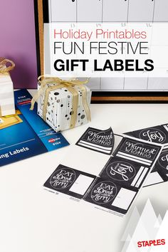Send warm wishes this holiday season with these free printable gift tag templates. Whether you prefer peel-and-stick labels or tags tied with a string, we've got you covered.