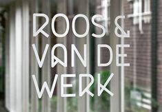 Roos & Van de Werk Visual identity