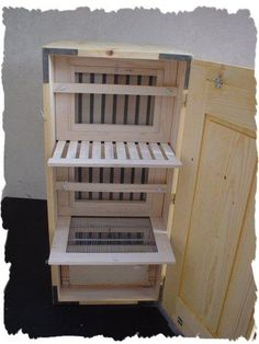 Eastern European Bee Hive - Open for demonstration B & S Producers