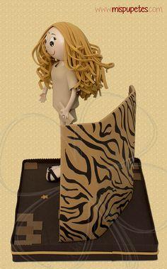 Fofucha para maquilladora #regalooriginal www.mispupetes.com