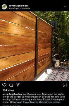 Deck Design, Fence, Gate, Hardwood, Home Improvement, Garage Doors, Canning, Outdoor Decor, Beautiful