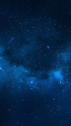 Blue Star Universe iPhone 6 Wallpaper