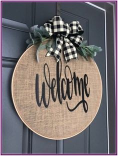 Wreaths for Front Door Spring Wreaths for Front Door Spring Spring Wreath for front door Burlap Wreath Hoop Wreath Burlap Crafts, Diy And Crafts, Embroidery Hoop Crafts, Etsy Embroidery, Embroidery Stitches, Front Door Decor, Front Doors, Door Entryway, Sliding Doors