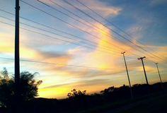 Fotos minhas. Por do sol