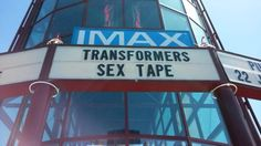 ''Didn't know transformers 5 was out already!'' XD