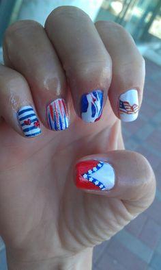 fourth of july nail polish