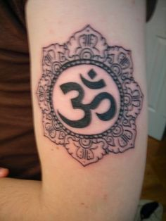 What does om tattoo mean? We have om tattoo ideas, designs, symbolism and we explain the meaning behind the tattoo. Om Tattoo Meaning, Tattoos With Meaning, Color Tattoo, I Tattoo, Love Tattoos, Tatoos, Tattoo Photography, Nature Tattoos, Mehndi Designs