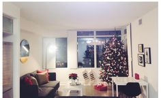 Christmas At Our Apartment.