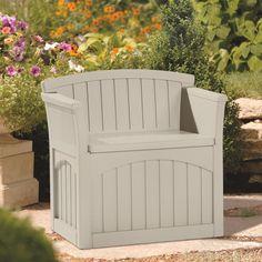 Suncast 117 Litre Plastic Storage Seat