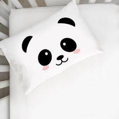 Panda toddler pillow cases nursery decor toddler bed toddler bedroom crib bedding Dream Big Little one toddler girl room toddler boy room bedroom decor kids room