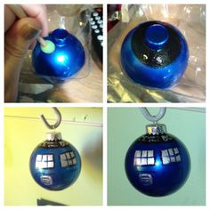 For the Dr. Who fan in your life. I will be making a few of these!