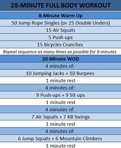 28-Minute Full Body Workout