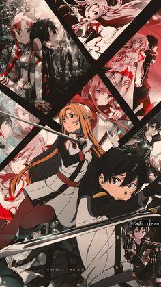 Check out our Sword Art Online merch here at Rykamall now! Sword Art Online Asuna, Sword Art Online Poster, Sword Art Online Wallpaper, Online Anime, Online Art, Anime Sword, Japan Kawaii, Otaku, Deku Anime