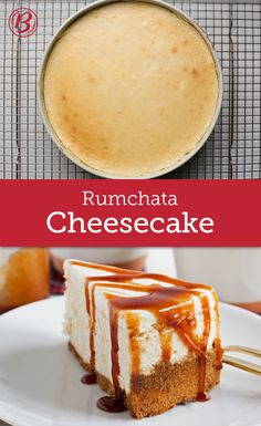 This layered creamy, dreamy RumChata™ cheesecake with a Cinnamon Toast Crunch™ cereal crust and a gooey cinnamon drizzle is a guaranteed party showstopper.