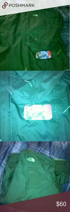 Brand new north face jacket Green North face jacket The North Face Jackets & Coats Windbreakers