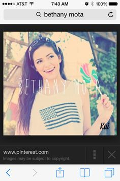 Beth, you are amazing!!!! Your my role model your beautiful,nice,halarious and just perfect! I hope I get to meet you someday!!!!   -Jordan (motavator)