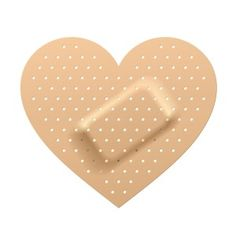 Always wanted some bandaids to heal a broken heart.
