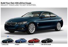BMW 4 Series configurator comes online