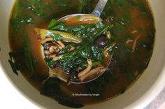 Miso soup and Soups on Pinterest
