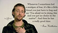 This is very true for me as well, actually. If I just ignore my fear I usually end up having a blast :)