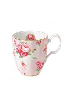 Royal Albert 100 Years Of Royal Albert 1980 Rose Blush Mug
