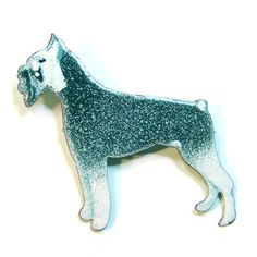 Vintage Enameled Schnauzer Dog Brooch by Betsysbijoux on Etsy, $16.00