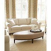 Martha Stewart Club Fabric Sofa Living Room Furniture Collection