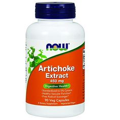 Digestive Health Standardized to 5% Cynarin Healthy Vascular Function Antioxidant Support* A Dietary Supplement Vegetarian Formula Artichoke Extract has a long history of use by herbalists as a digestive tonic. Modern scientific studies have confirmed that Artichoke Extract can promote healthy... more details at http://supplements.occupationalhealthandsafetyprofessionals.com/herbal-supplements/artichoke/product-review-for-now-foods-artichoke-extract-450mg-veg-capsules-90-coun