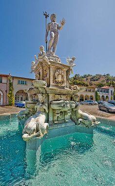 The Fountain at Malaga Cove, Palos Verdes Estates, Los Angeles County, CA