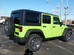 Green Jeep Wrangler, Jeep Wrangler For Sale, Jeep Wrangler Rubicon, White Jeep, Black Jeep, 2013 Jeep Wrangler Unlimited, Pink Jeep, Clarksville Tn, Future Car