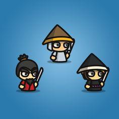 Samurai - Tiny Style Character Sprite