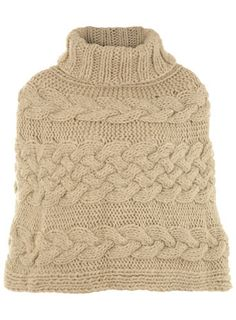 love the cable knit in the middle