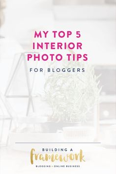 These photography tips are so helpful! I've always wondered how bloggers get their interior photos so bright, crisp and clear, and now I know how!…