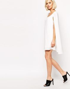 Lavish Alice | Lavish Alice Cape Shift Dress at ASOS