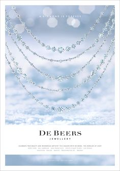 Our Christmas Advertising for De Beers