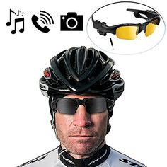 [Best Cycling Bluetooth Sunglasses] BlueLotus® Hifi Stereo Bluetooth 4.1 Sunglasses (Polarized Black+Yellow Lens) Headset, Music Glasses Supports Music, Handfree Calls, Camera Shutter Remote BlueLotus® http://www.amazon.com/dp/B00MA9T9OM/ref=cm_sw_r_pi_dp_f2OTwb0DJE3FW