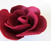 Rose Felt Flower (large)