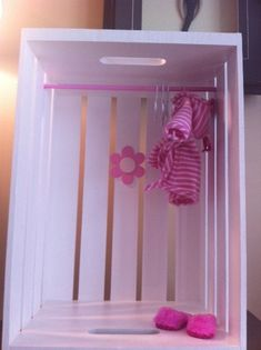 This looks easy to make on my own...Baby Doll Closet by collinst on Etsy. , via Etsy.