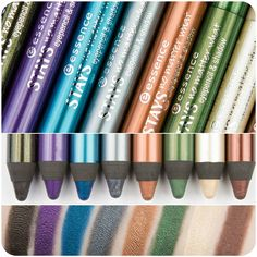 STAYS no matter  it lasts up to 16 hours and can be used as an eyeliner or an eyeshadow. the jumbo eye pencil & shadow is easy to apply accurately and won't smudge. <3 <3 <3 <3
