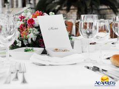 #tubodaenacapulco Deliciosos platillos para tu boda en Acapulco con Banquetes Elcano. HAZ TU BODA EN ACAPULCO. Banquetes Elcano, te ofrece una gran variedad de opciones para elegir de acuerdo a tus preferencias, además de un amplio menú para la celebración de tu boda con el cual sorprenderás a todos tus invitados, gracias a sus deliciosos sabores. Te invitamos a casarte en el hermoso Puerto de Acapulco. www.fidetur.guerrero.gob.mx
