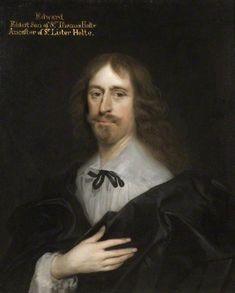 Edward Holte by Cornelis Janssens van Ceulen