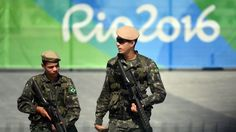 rio 2016 olympics russia | Security is high at the Olympic Games due to Rio's…