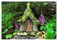 You can order fairy house greeting cards at Greenspirit Arts